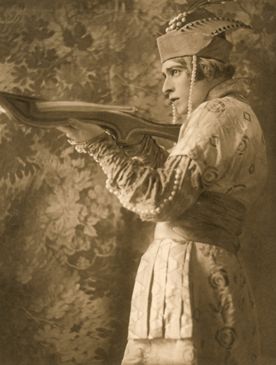 E.O. Hoppé Adolph Bolm 1911 Photogravüre
