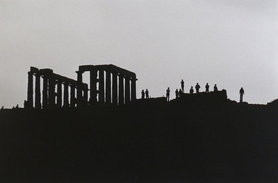 Elliott Erwitt Poseidon Temple Greece, 1979 Gelatin Silver Print Signed, titled and dated Available in different formats