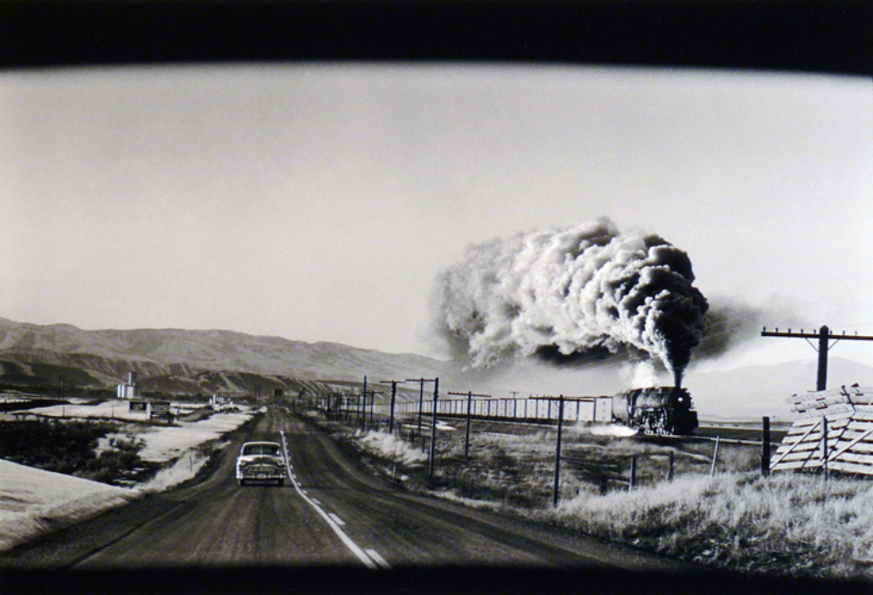 Elliott Erwitt Wyoming USA, 1954 Signed, titled and dated Gelatin silver print