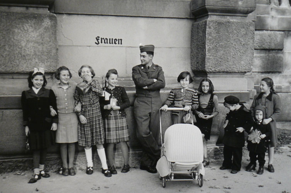 Elliott Erwitt Karlsruhe Germany, 1951 Gelatin Silver Print Signed, titled and dated Available in different formats