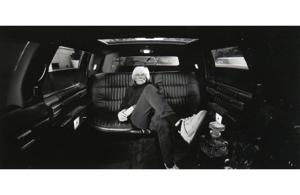 Elliott Erwitt Andy Warhol USA, 1986 Gelatin Silver Print Signed, titled and dated Available in different formats