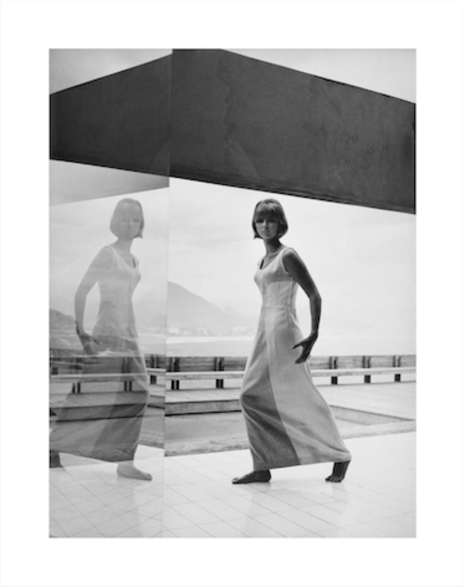 Am Horizont der Corcovado, Haus Bernadez Rio de Janeiro, Brasilien, 1963