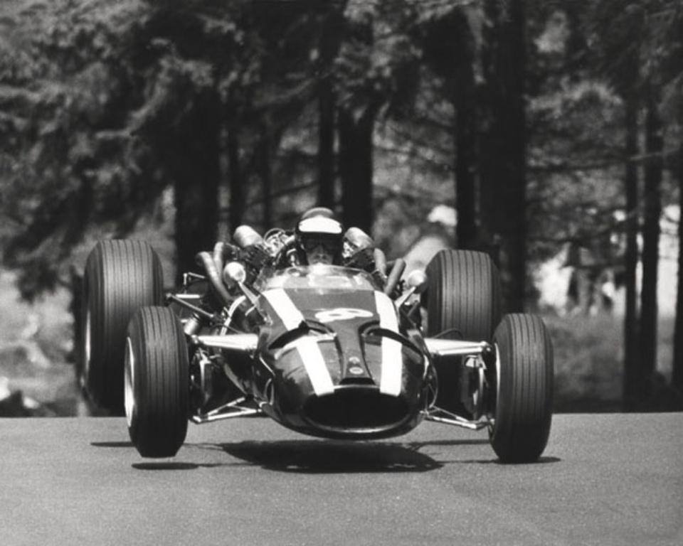 Ferdi Kräling Cooper-Maserati Nürburgring, 1967