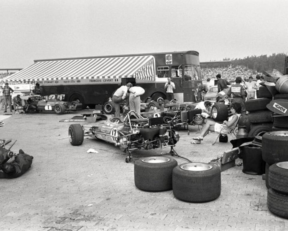 Ferdi Kräling Am Hockenheimring 1970