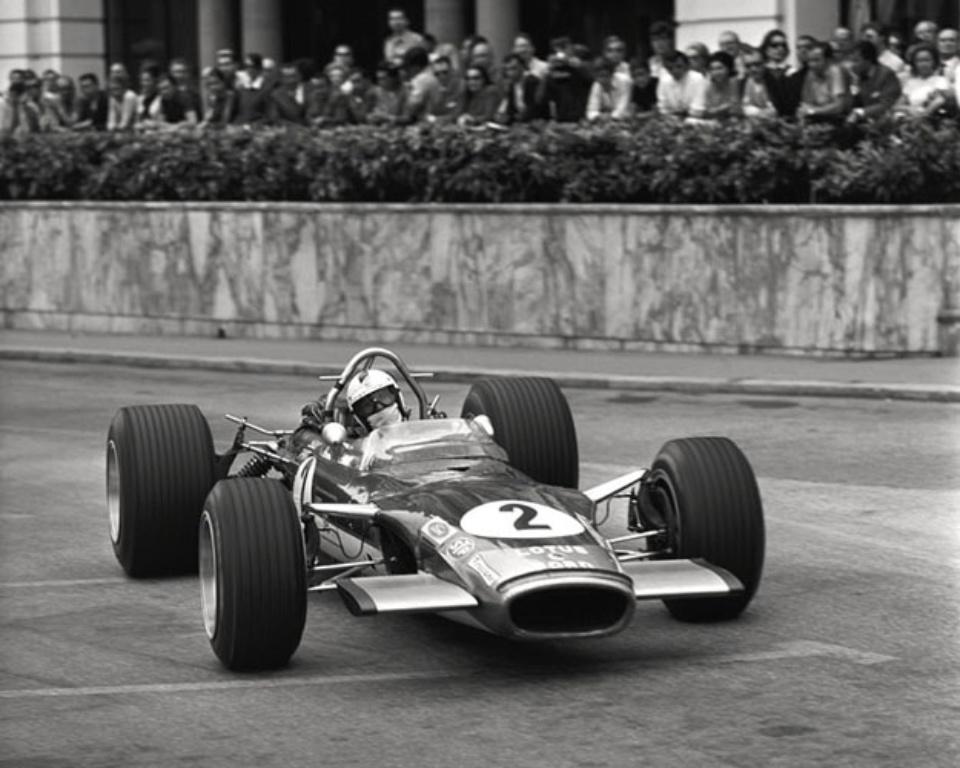 Ferdi Kräling Lotus 49 in Monaco 1970