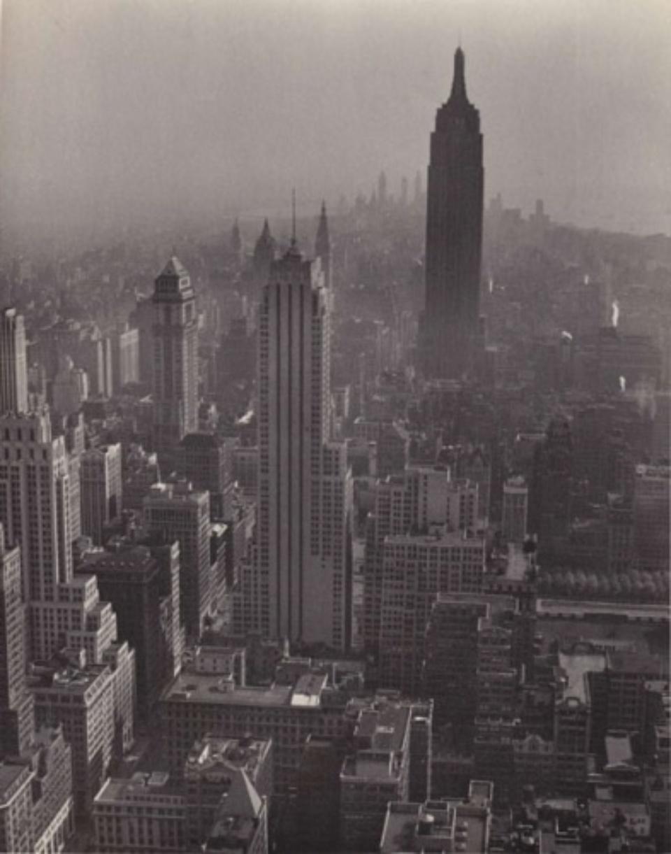 Fred Stein Cityscape New York, 1947 Vintage gelatin silver print 20,5 x 25,5 cm