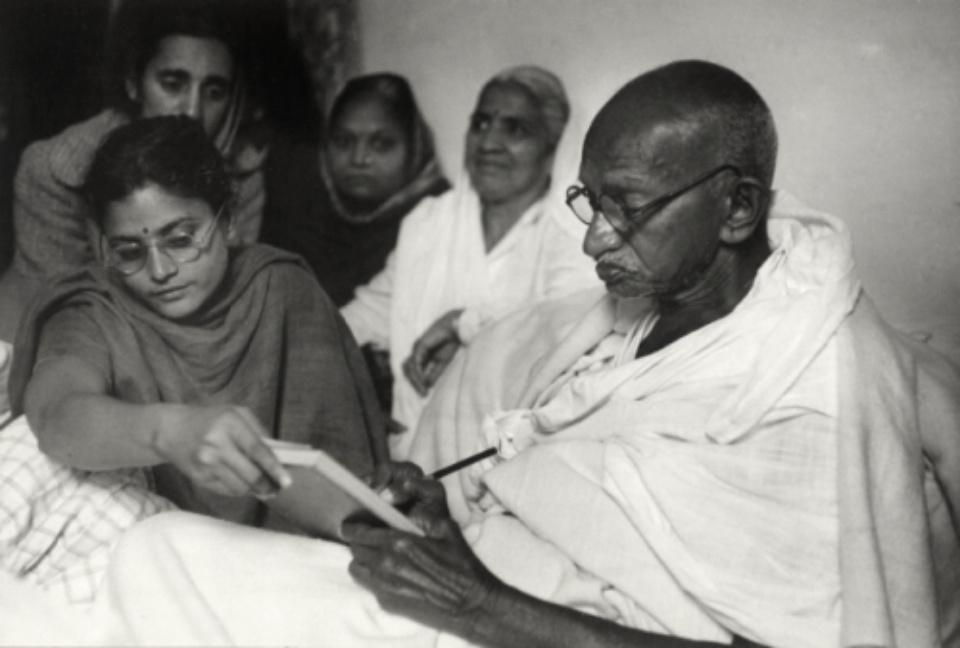 Henri Cartier-Bresson: Gandhi, Just Before Ending His Fast Birla House, Delhi, India, 1948