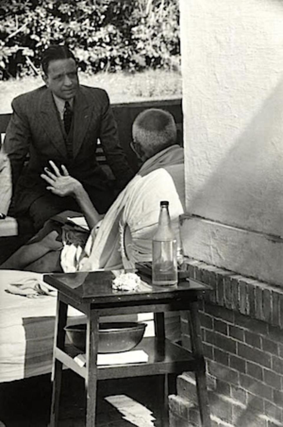 Henri Cartier-Bresson: Gandhi, the Day Before His Assassination Birla House, Delhi, India, 1948