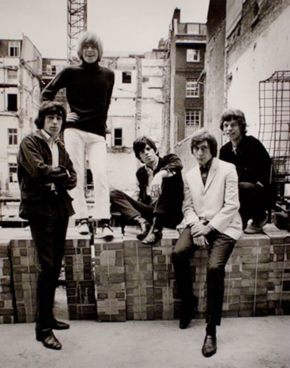 Gered Mankowitz: The Rolling Stones Out Of Our Heads, Masons Yard London, 1965 Gelatin silver print, printed later Signed, titled, dated and numbered