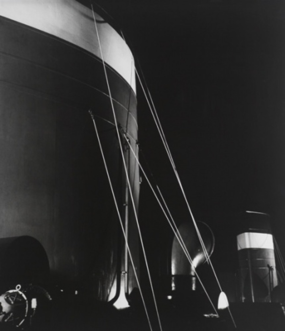 Herbert List Ship Superstructures Hamburg, 1930 Gelatin silver print, printed later Estate stamp on verso 144 x 128 cm Ed. 3