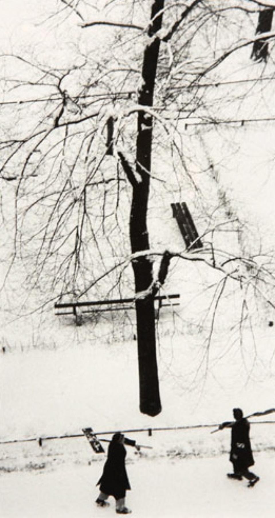 Herbert List Erster Schnee München, 1959 Gelatin Silver Print