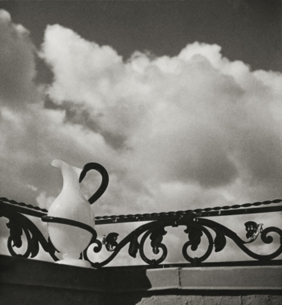 Herbert List Pitcher on Balustrade Hamburg, 1932 Vintage gelatin siver print, printed 1939 Annotations on verso