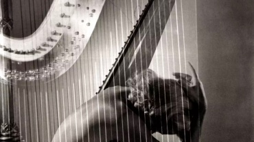 Horst P. Horst. Lisa with Harp, Paris, 1939