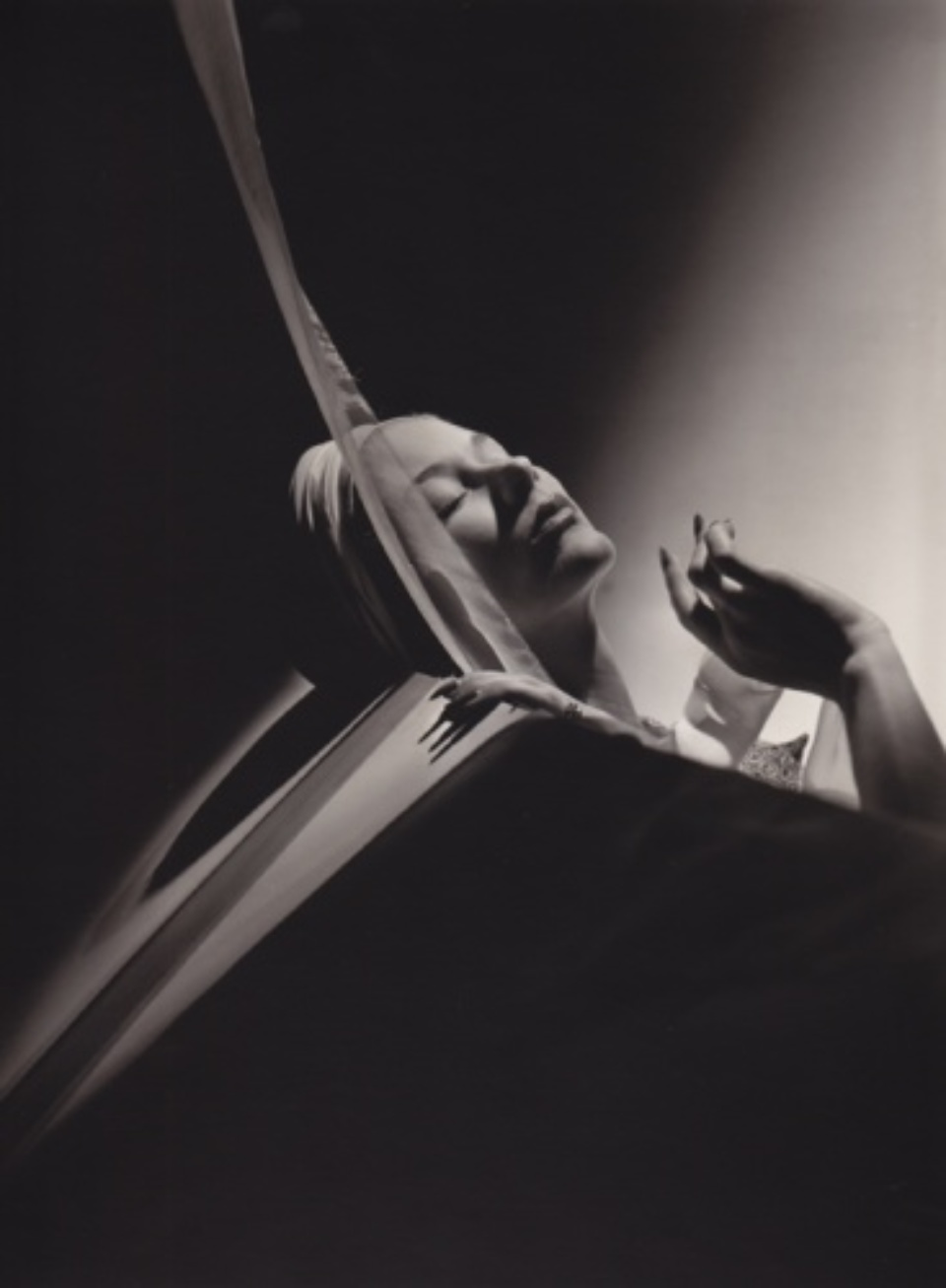 Horst P. Horst: Lisa with Turban 1940 Gelatin silver print, printed later Embossed on recto Signed, titled and dated on verso Artist stamp on verso 27 x 35,5 cm
