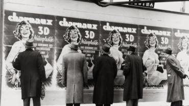 Franz Hubmann Naturplastik von Charnaux, Wien, 1955 Modern gelatin silver print Artist stamp on verso