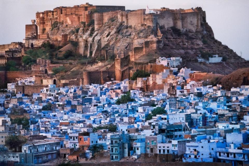 Jodpur Cityscape India, 1996