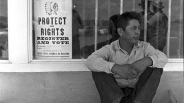 Max Scheler, Indian Farm Worker, Arizona, 1956