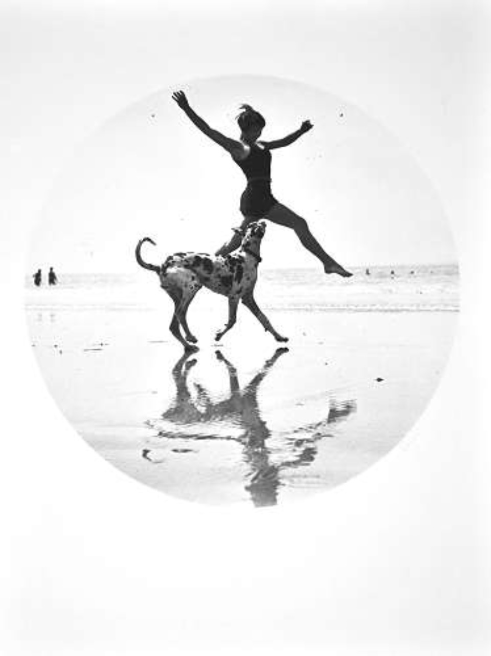 Jacques-Henri Lartigue Suzy Vernan 1926 Modern Gelatin Silver Print Estate stamp on verso 40 x 30 cm