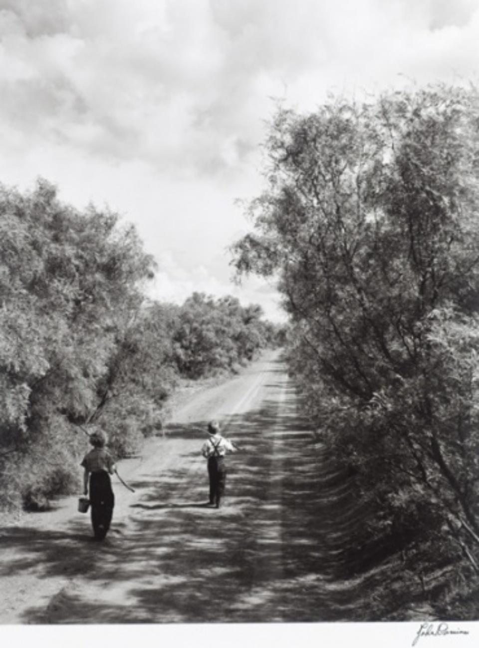John Dominis Going fishing Texas, 1952 Gelatin Silver Print