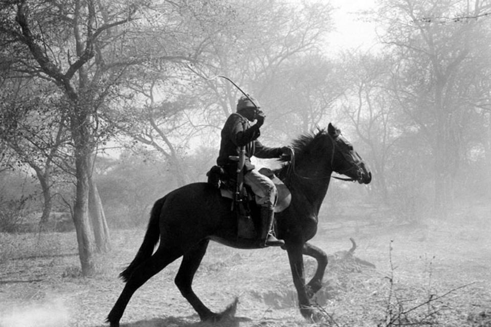 Jürgen Schadeberg Botswana Cowboy 1962 Signed and titled Gelatin silver print