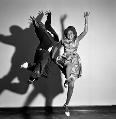 Jürgen Schadeberg Dancing at the Ritz Johannesburg, 1951 Signed and titled Gelatin silver print
