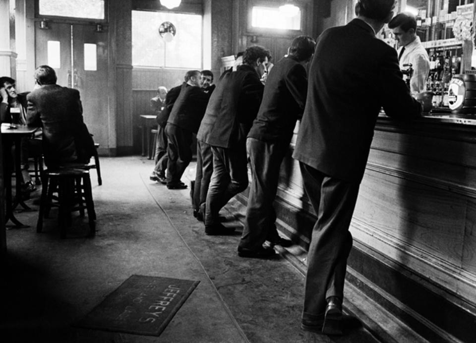 Jürgen Schadeberg Scottish pub Glasgow, 1968 Signed and titled Gelatin silver print