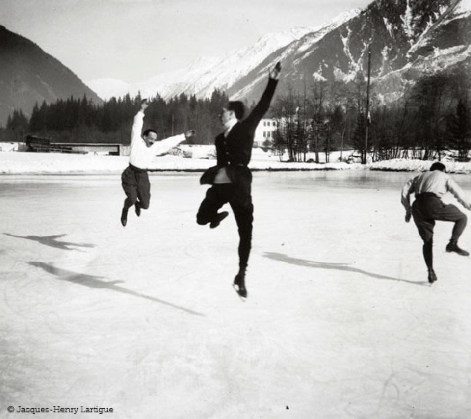 Jacques-Henri Lartigue Chamonix 1913