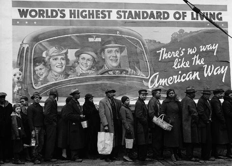 Margaret Bourke-White: At the Time of the Louisville Flood, Louisville Kentucky, 1937 Fine art print on Bütten PP 2/5