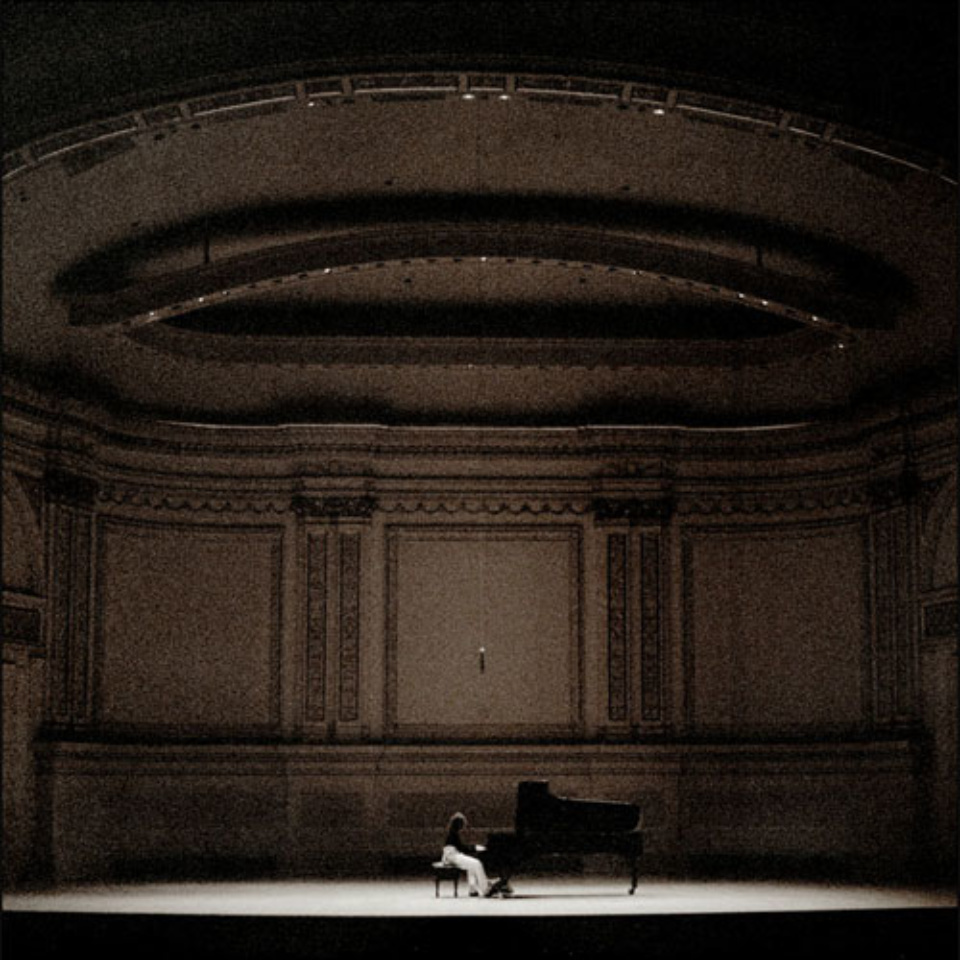 Mat Hennek: Hélène Grimaud I New York Carnegy Hall, 2007 Labeled on verso Archival pigment print 60 x 60 cm Ed. 2/6