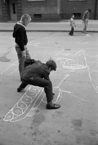 Max Scheler Kreidepanzer, Berlin Pankow, Germany (East ), DDR 1963