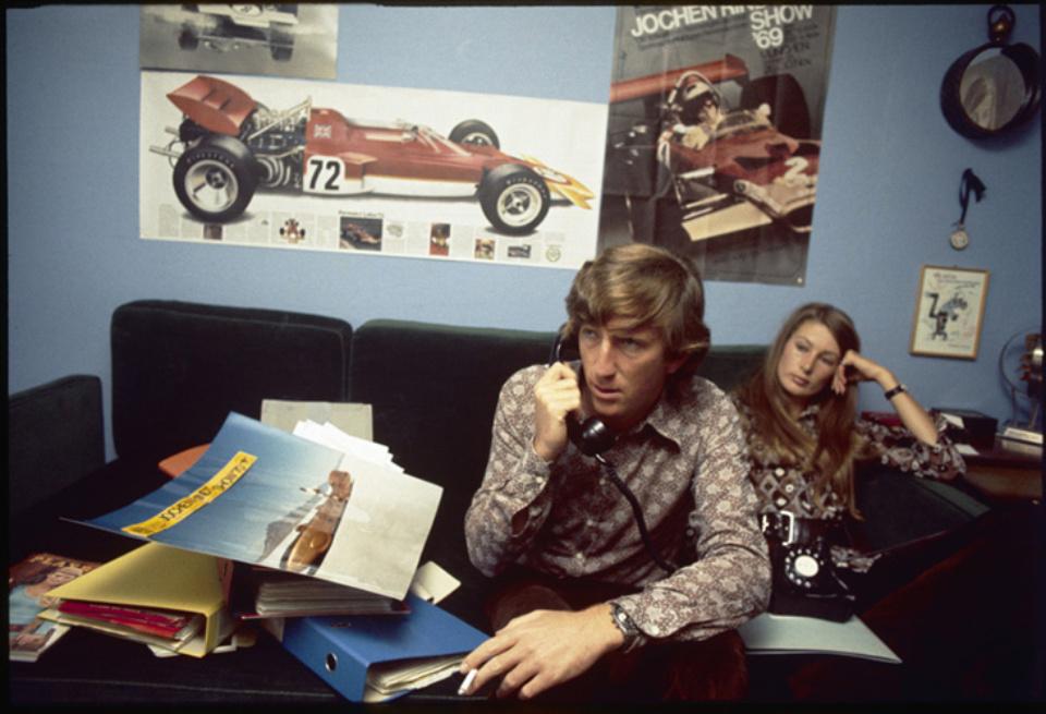 Max Scheler In Jochen Rindts Haus Genfersee, 1970 C-print