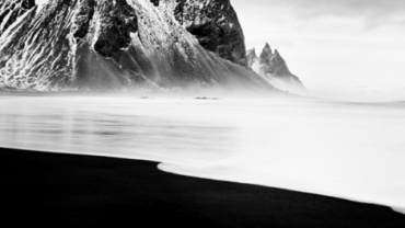 Michael Schlegel Vestrahorn I Iceland, 2011 Gelatin silver print Signed, titled, dated and numbered on verso 30 x 30 cm, 50 x 50 cm, 75 x 75 cm
