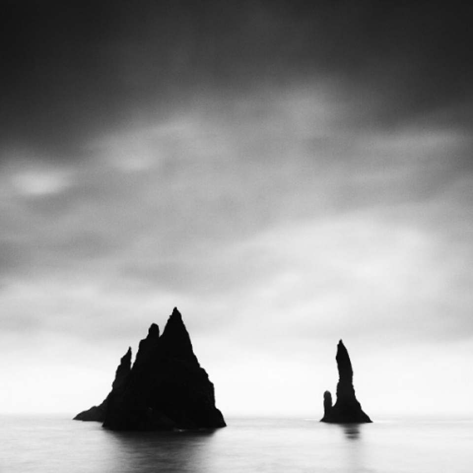 Michael Schlegel Reynisdrangar II Iceland, 2009 Signed, titled, dated and numbered on verso Archival pigment print 30 x 30 cm, 50 x 50 cm, 75 x 75 cm