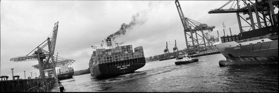 Paolo Pellegrin: Hafen XII Hamburg, 2015 Silver Gelatin Print Signed Ed. 5