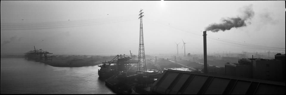 Paolo Pellegrin: Hafen XV Hamburg, 2015 Silver Gelatin Print Signed Ed. 3