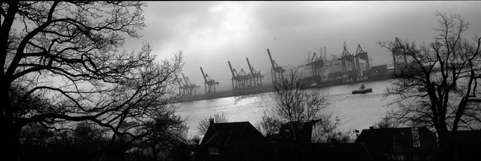 Paolo Pellegrin: Hafen XVI Hamburg, 2015 Silver Gelatin Print Signed Ed. 5