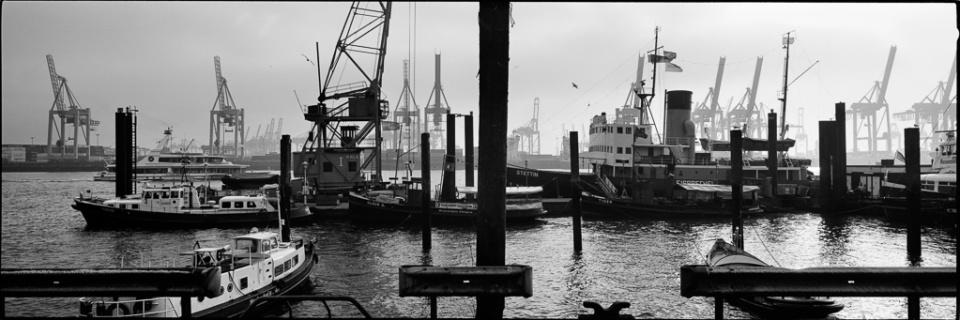 Paolo Pellegrin: Hafen III Hamburg, 2015 Silver Gelatin Print Signed Ed. 5