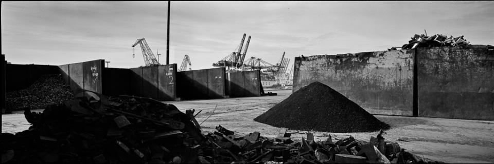 Paolo Pellegrin: Hafen IV Hamburg, 2015 Silver Gelatin Print Signed Ed. 5