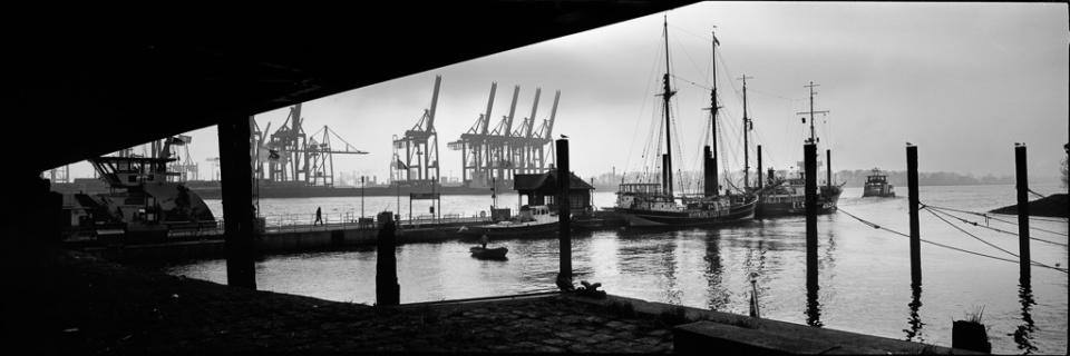 Paolo Pellegrin: Hafen IX Hamburg, 2015 Silver Gelatin Print Signed Ed. 5