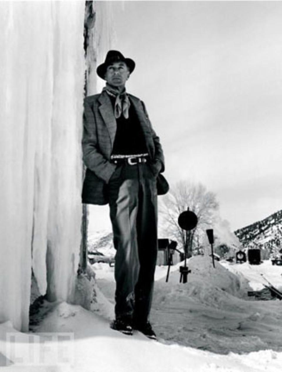 Peter Stockpole Gary Cooper, Aspen 1949 Gelatin silver print Ed. 250