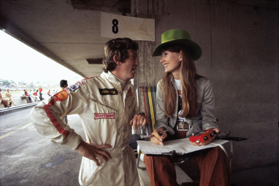 Rainer Schlegelmilch Am Österreichring 1970