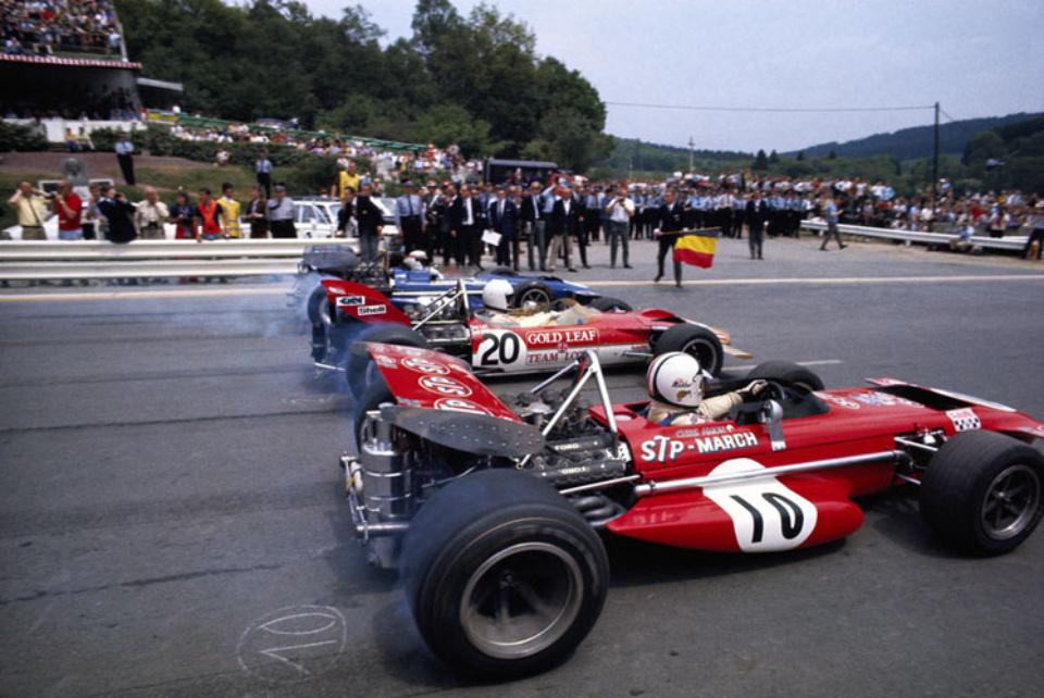 Rainer Schlegelmilch Erste Startreihe In Spa-Francorchamps, 1970