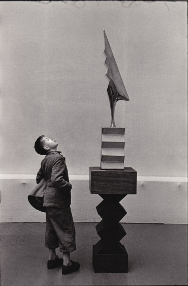 René Burri: Sculpture by Brancusi, Kunsthaus Zürich, 1955