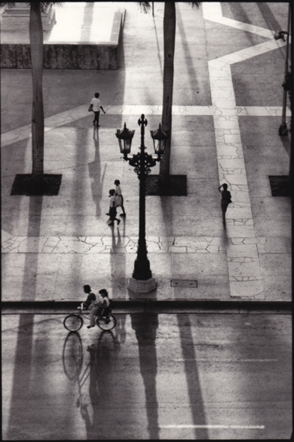René Burri Plaza José Marti Havana, Kuba, 1993 Signed, titled and dated on verso Gelatin silver print, printed later