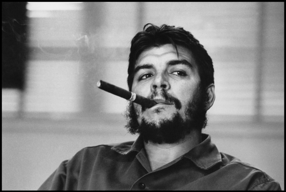 René Burri Che Guevara Havana, Kuba, 1963 Signed, titled and dated on verso Gelatin silver print, printed later