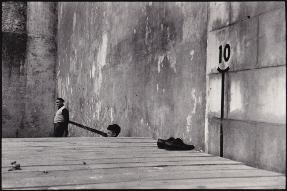 René Burri Bilbao Spain, 1957 Signed, titled and dated on verso Gelatin silver print, printed later