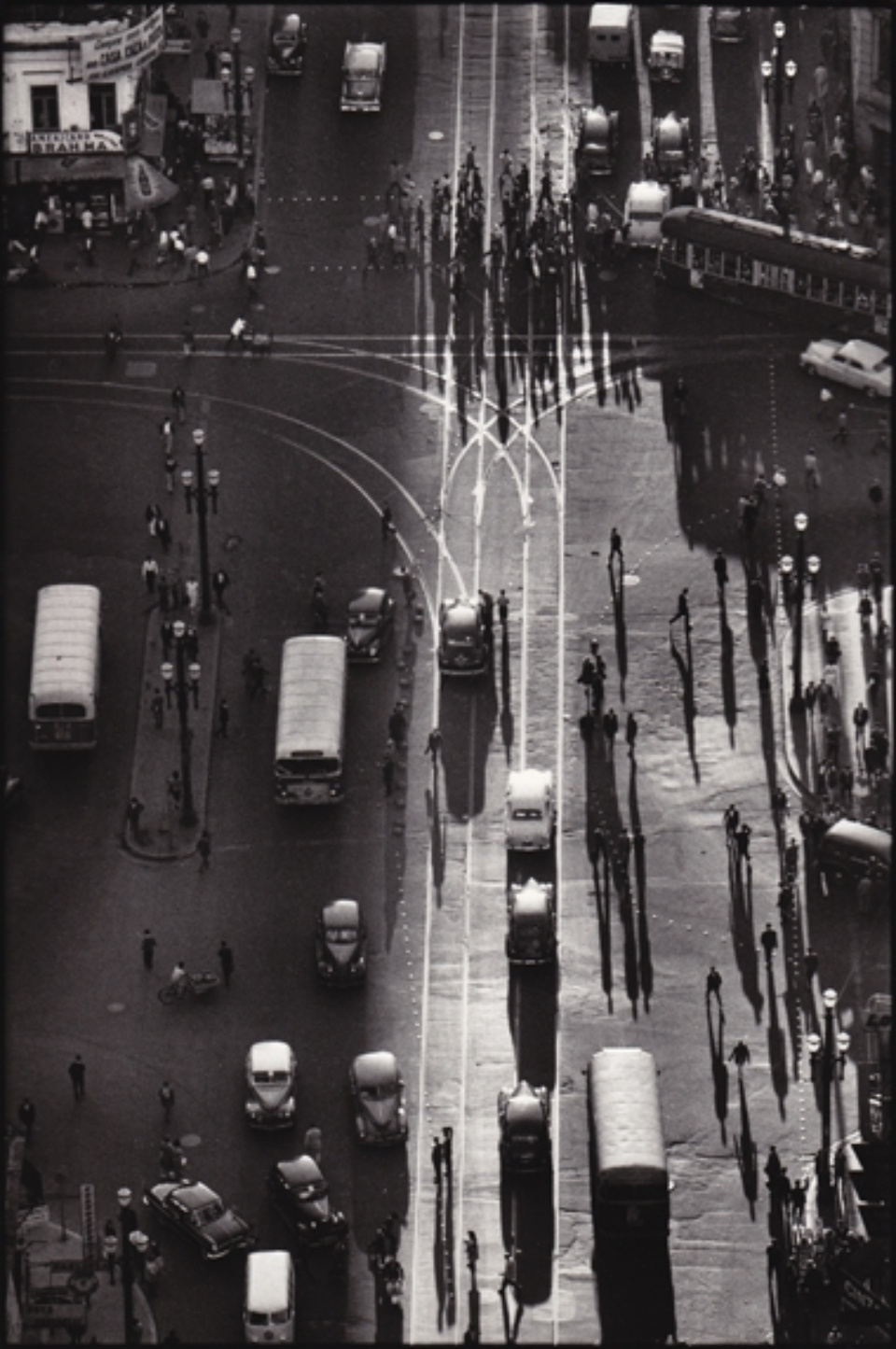René Burri Plaza José Marti Havana, Kuba, 1993 Signed, titled and dated on verso Gelatin silver print, printed later