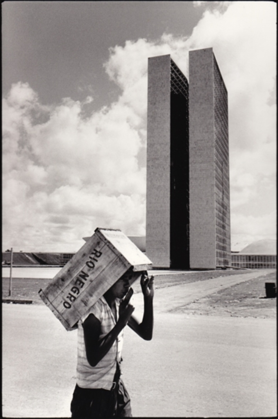 René Burri Brasilia Brasilien, 1960 Signed, titled and dated on verso Gelatin silver print, printed later