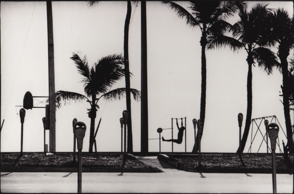 René Burri Training Fort Lauderdale, Florida, 1966 Signed, titled and dated on verso Gelatin silver print, printed later