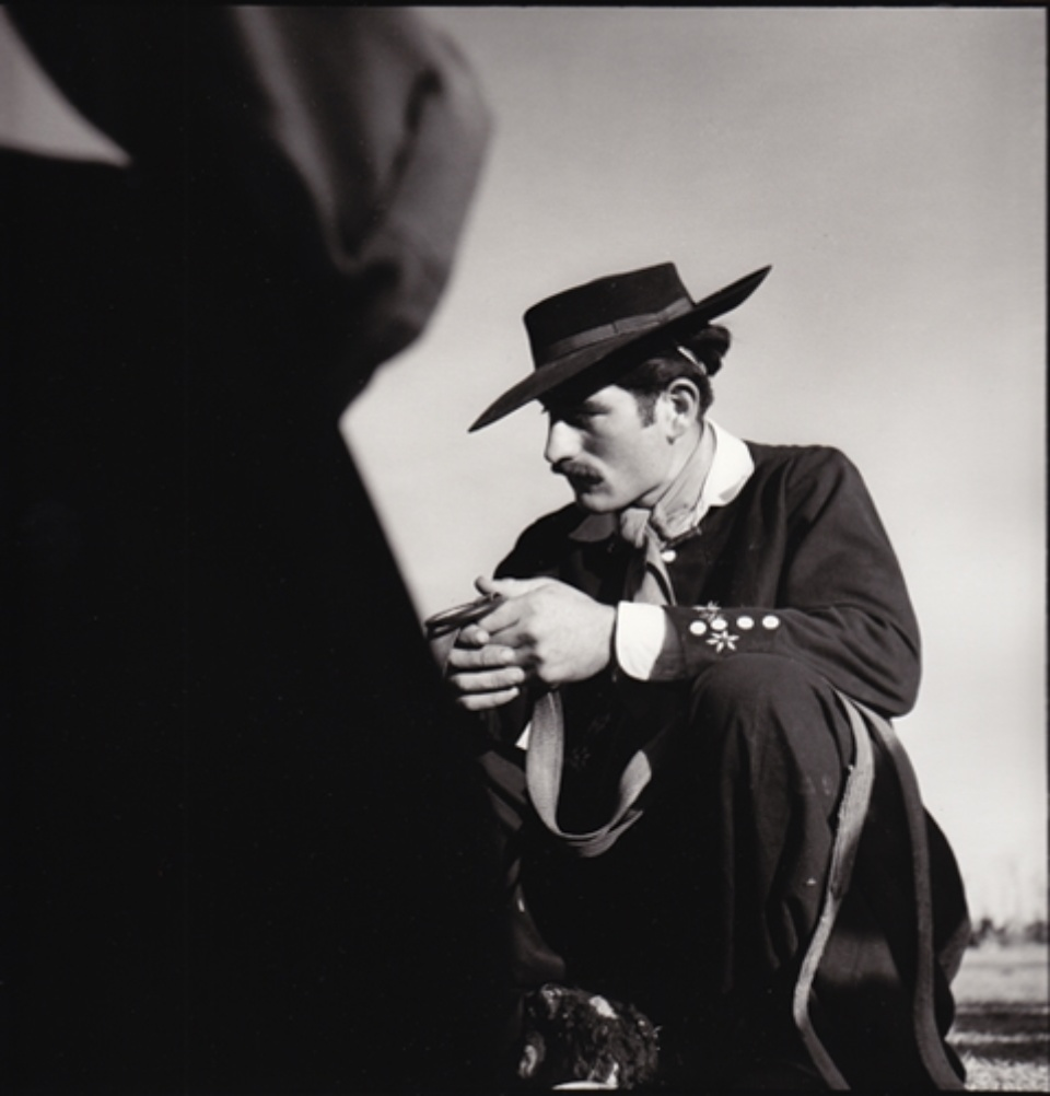 René Burri El Gaucho Pamoa, Argentinien, 1958 Signed, titled and dated on verso Gelatin silver print, printed later